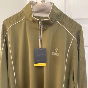 Greg Norman long sleeve light weight golf jacket